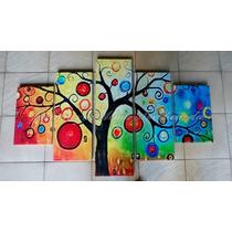 Cuadro Tripticos Modernos Abstractos Oferta Navidad !!!