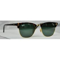 Lentes Ray-ban Clubmaster 3016 Carey G15 100% Originales