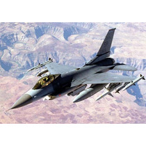 Planta Do Lockheed Martin F-16 Fighting Falcon Gigante Giant