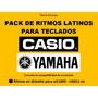 Ritmos Populares Teclados Yamaha Pack 200 - Nuevo Video