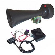 Sirene 6 Sons Profissional Tipo Rontan C/ Microfone E Driver