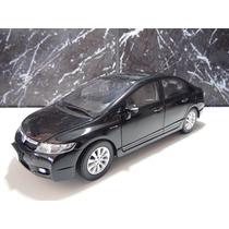 Honda Civic Lxl 2009/2011 Preto Escala 1:18 Rarissimo Top