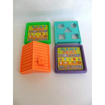 Brinquedos De Bebê Lote De 04 Peças Sucata Aproveitamento