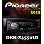 Radio Pioneer Deh 3550 Usb Auxiliar Multicolor Mixtrax Ipod