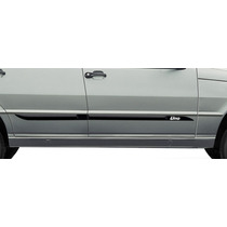 Fiat Uno 85/13 4p Jogo Friso Lateral Personalizado Tg Poli