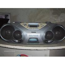Radio Gradador Cd Cassette Philips Mod Az1550 Superpotente