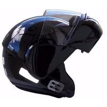Capacete Ebf E8 Robocop (articulado) Brilho Tam 56-58-60-61