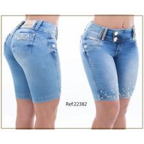 Bermuda Pit Bull Jeans Com Bojo Removível Cód. 22382
