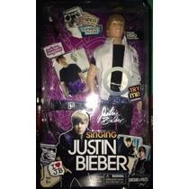 Muñeco Justin Bieber Que Canta Nuevo