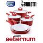 Juego De Ollas Y Sartenes De Ceramica Bialetti Italianos