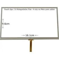 Tela Touch Gps Foston Fs 3d 717 Dc 7 Polegadas Flex Central