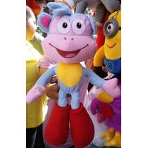 Boneco Pelúcia Macaco Botas Gigante Da Dora Aventureira
