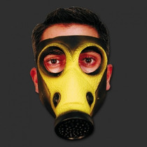 Mascara Latex Guerra Biologica Terror Jodas Obras Disfraz