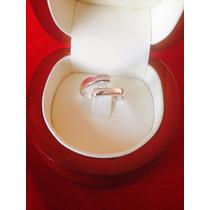 Anillo Modelo Venus Oro Blanco Con Diamante
