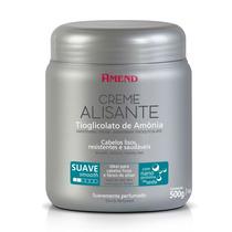Creme Alisante Tioglicolato De Amônia Suave 500g - Amend