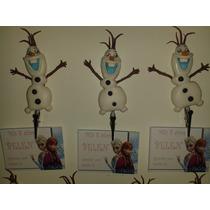 Olaf De Frozen 10 Portamensajes Con Tarjeta Personalizada