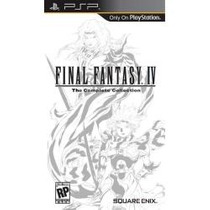 Jogo Umd Para Psp Final Fantasy Iv The Complete Collection