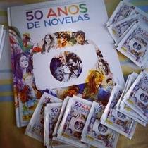 Cromos Album 50 Anos De Novela Tv Globo Editora Panini