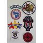 Set 7 Parches Escudos Insignias Kenpo Karate Artes Marciales