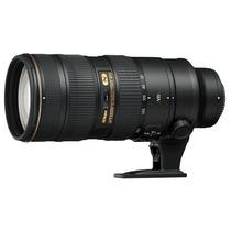 Lente Nikon 70-200mm F/2.8g Ed Af-s Vr Ii