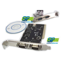 Placa Pci I/o Multiserial 4 Serial Rs232 Wchch353l