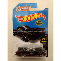 Carrinho Hot Wheels Batman 1/5 Tv Series Batmobile Original