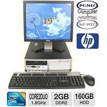 Computadoras Core 2 Duo Monitor 19 Teclado Mouse, Completas