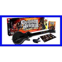 Guitar Hero 3 Ps3 Com Guitarra Bundle Playstation 3 Original
