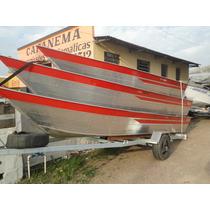 Barco Tibagi (aluminio) 6m Novo Ou 12x De 500 No Cartao