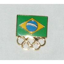 Pin Do Comitê Olímpico Brasileiro - Brasil Nas Olimpíadas