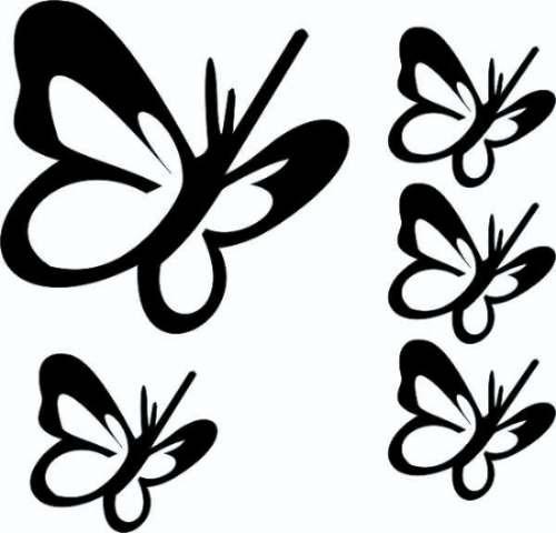 Artesanato Angolano ~ Adesivos Decorativos Paredes E Ambientes 48 Borboletas R$ 32,90 em Mercado Livre