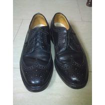 Zapatos Florsheim Para Caballeros, Talla 8 1/2, Color Negro.