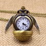 Collar Snitch Dorada - Reloj Harry Potter Bola Quidditch<br><strong class='ch-price reputation-tooltip-price'>$ 25.900</strong>