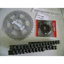 Relação Completa Moto Sundown Stx 200 Motard Vaz + Kmc