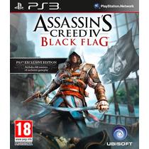 Assassins Creed Iv Portugues + Dlc , Play 3 Codigo Psn !!!