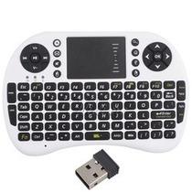 Lindo Teclado Sem Fio C/ Touchpad Para Pc, Not, Ps3, Xbox360