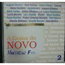 Cd A Gema Do Novo Musical Fm Zeca Baleiro Rita Ribeiro