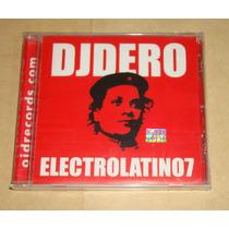 Dj Dero Electrolatino7 Cd Nuevo Sellado