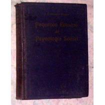Pequenos Estudos De Psycologia Social 1923 Oliveira Vianna