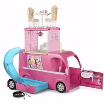 Mega Trailer Da Barbie Family Lançamento Original Mattel