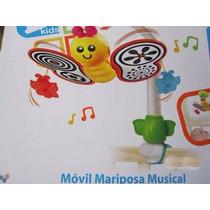 Móvil Mariposa Musical De Kreisel Solo Queda Mariposa Fucsia