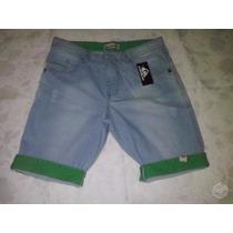 Bermuda Jeans Masculina Varias Marcas E Cores. Pronta Entreg