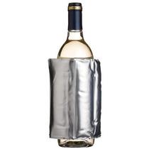 Enfriador De Botellas De Vino Y Cerveza Envoltura Plateada