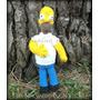 Amigurumi Homero Simpson! Muñeco Artesanal Tejido A Crochet