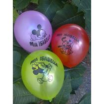 Globos Personalizados Perlados Cumpleaños Con Nombre