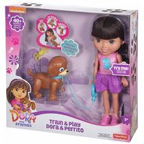 Dora Exploradora Perrito Interactiva Amigos Remate 70%