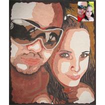 Desenho De Retrato / Caricatura / Pintura - 50 X 60cm