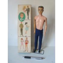 Boneco Ken Da Mattel - Namorado Da Barbie - De 1961