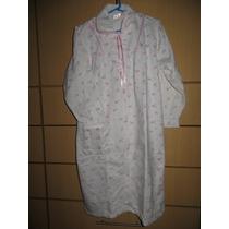 Camison Ropa Dormir Pijama Bata Franela Dama Talla S B30