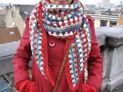 Bufandas Tejidas A Mano De Mujer Y De Hombre - $ 600,00 en Mercado Libre